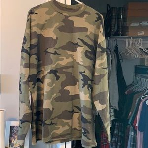 Pac-sun Military sweatshirt/dress Sz L